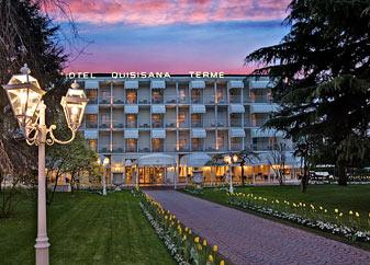 Hotel Quisisana 4* (Отель Кисисана), Абано Терме, Италия