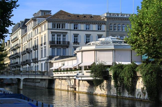 Швецария: Цюрих, отель Baur au Lac (Бор о Лак)
