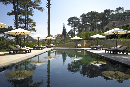 Ana Mandara Villas Dalat Resort & Spa (Ана Мандара Вилла Далат Резорт и Спа), Далат,  Вьетнам.